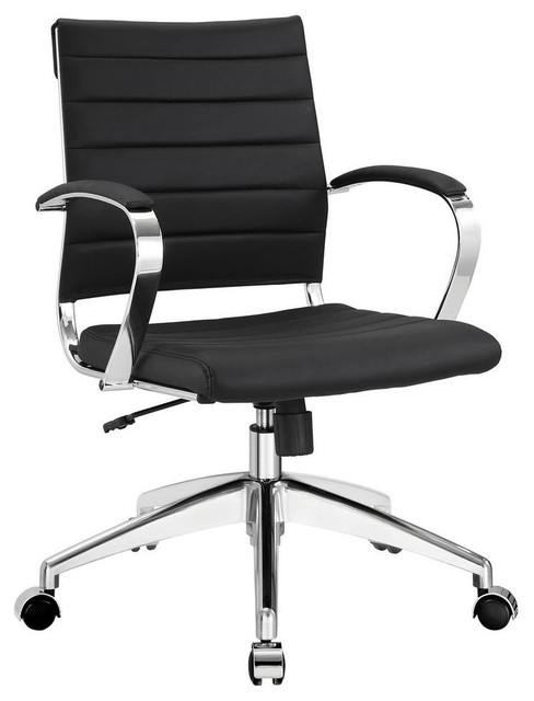 Jive Mid Back Office Chair, Black.