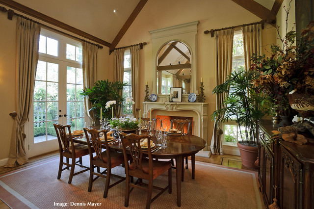 country style dining rooms. French Country Style Home- Extreme Remodel 9316 Traditional-dining-room Dining Rooms R