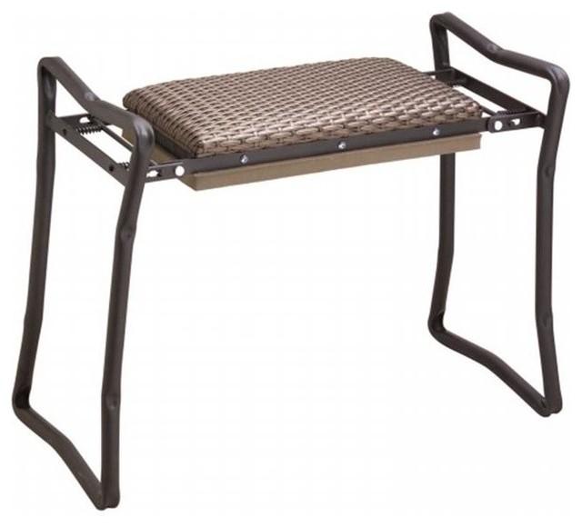 Flexrake Flexrake Steel Wicker Classic Garden Kneeler And Bench Cla103 Reviews Houzz