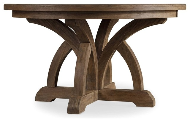 Round Dining Table hooker furniture corsica round dining table - transitional