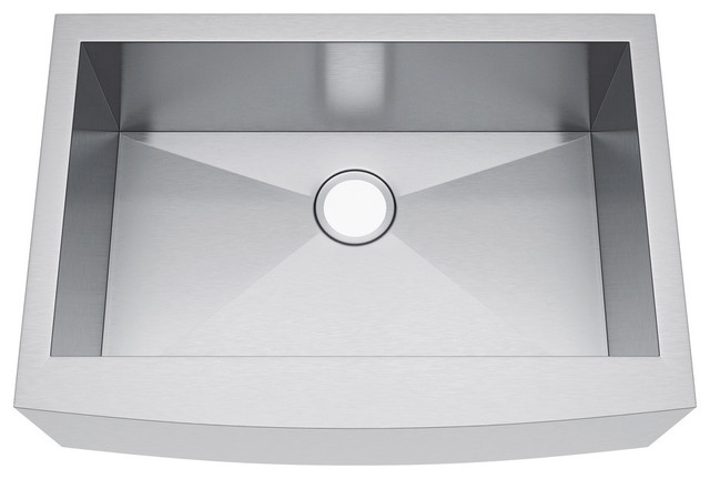 30 X21 Single Bowl Stainless Steel Kitchen Farmhouse A Front Sink