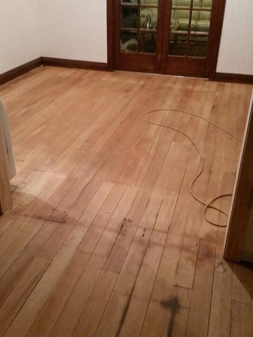 Floor Stain White Wash Or Dark