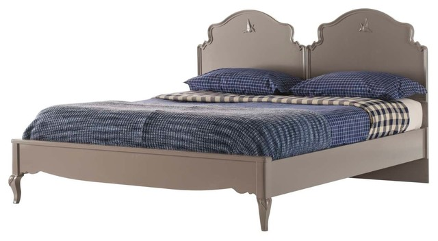 Double Bed Frame, Grey