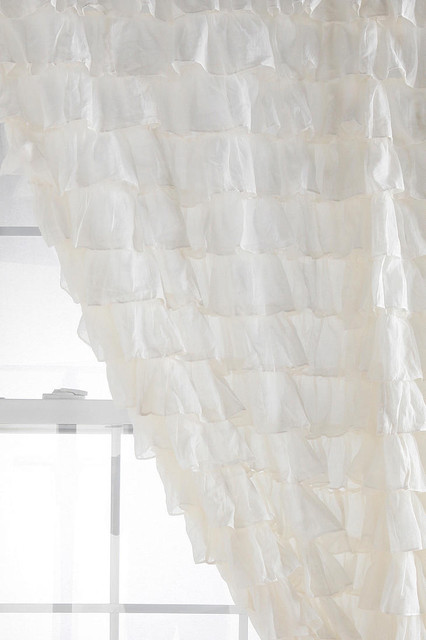 Waterfall Ruffle Curtain eclectic-curtains