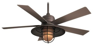 Minka Aire Rainman Ceiling Fan Galvanized Beach Style Ceiling Fans By Lighting And Locks