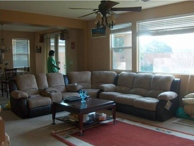 Need To Redecorate Old Fashioned Living Room!