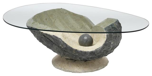 Venus Glass Coffee Table
