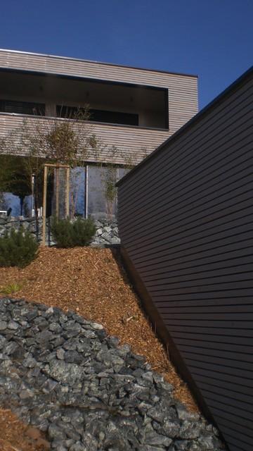 Fassadenplatten Holz mit holz und fassadenplatten