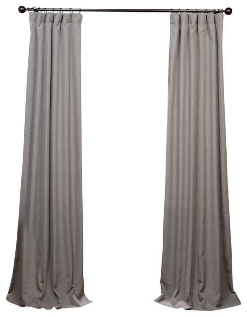 grey linen curtains blue red heavy faux linen curtain single panel pewter gray grey curtain panel transitional
