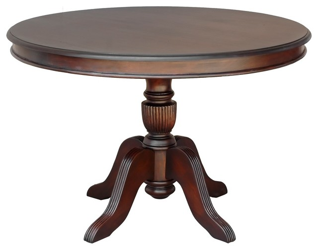 Venezia Round Dining Table Traditional Dining Tables