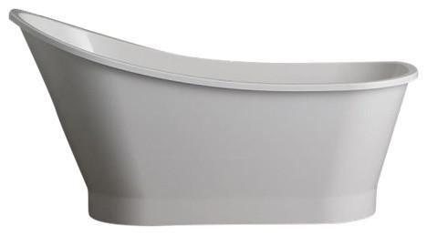Arisa Freestanding Asymmetric Bathtub