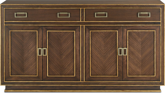 Credenza Dark : Benedict credenza transitional buffets and sideboards by