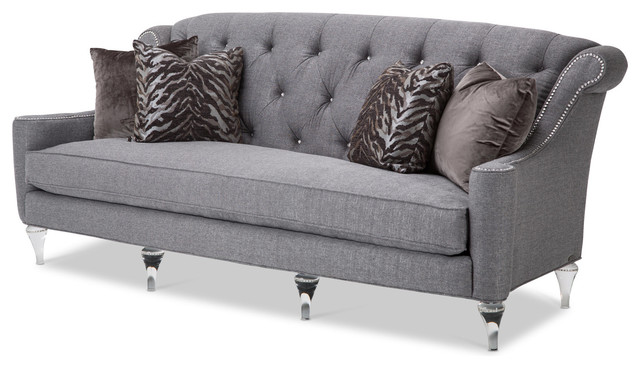 Prime Review Save Aico Studio Adele Tufted Sofa Clear With Ncnpc Chair Design For Home Ncnpcorg