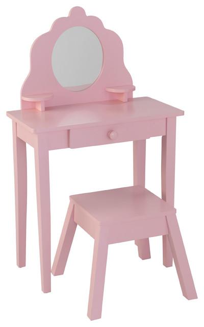 Miraculous Medium Diva Table And Stool Pink Creativecarmelina Interior Chair Design Creativecarmelinacom