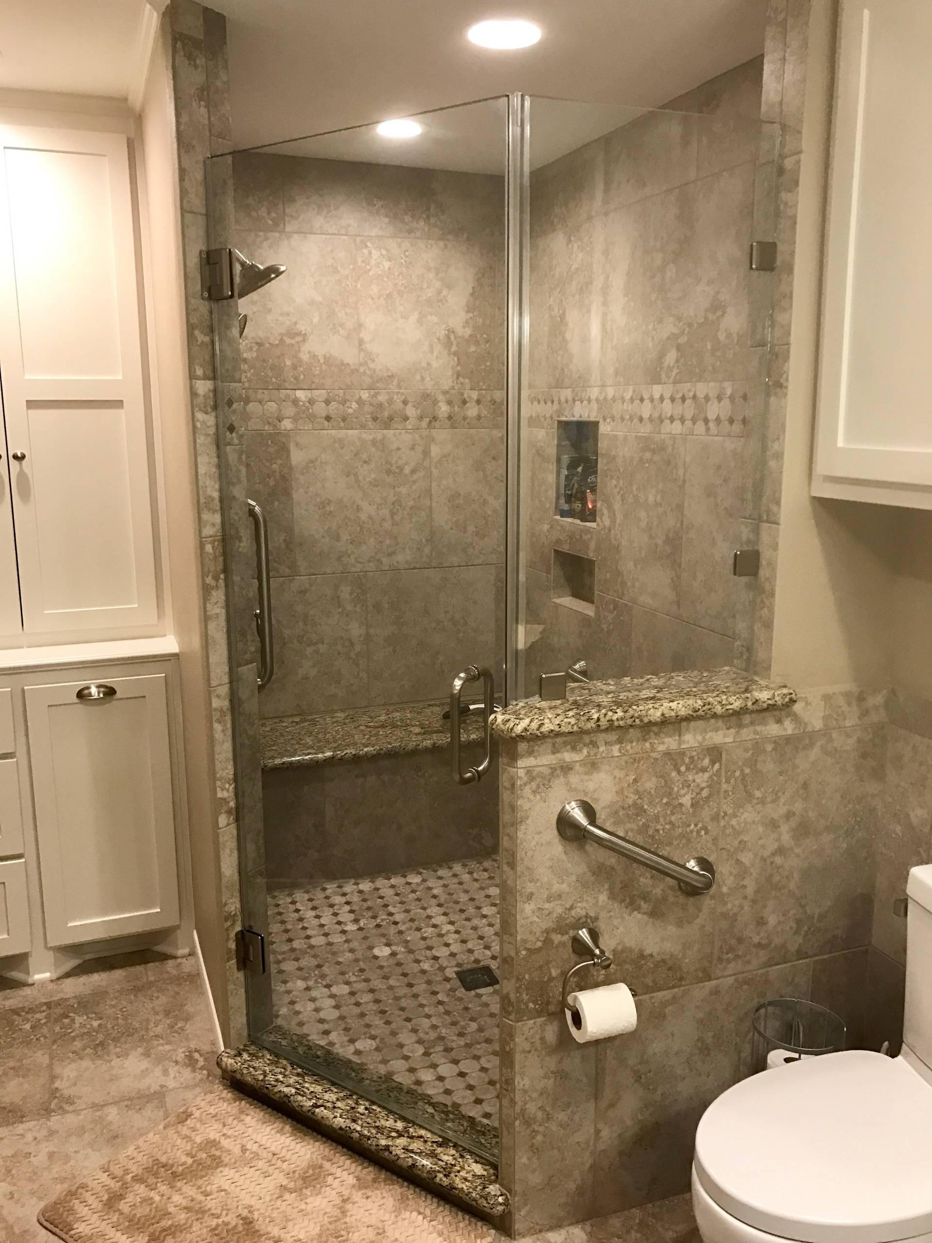 Brazoria Master Bathroom Remodel - 2017