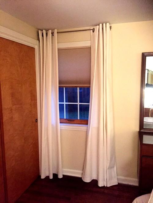 Curtain Rod For Window Against Wall Curtain Menzilperde Net