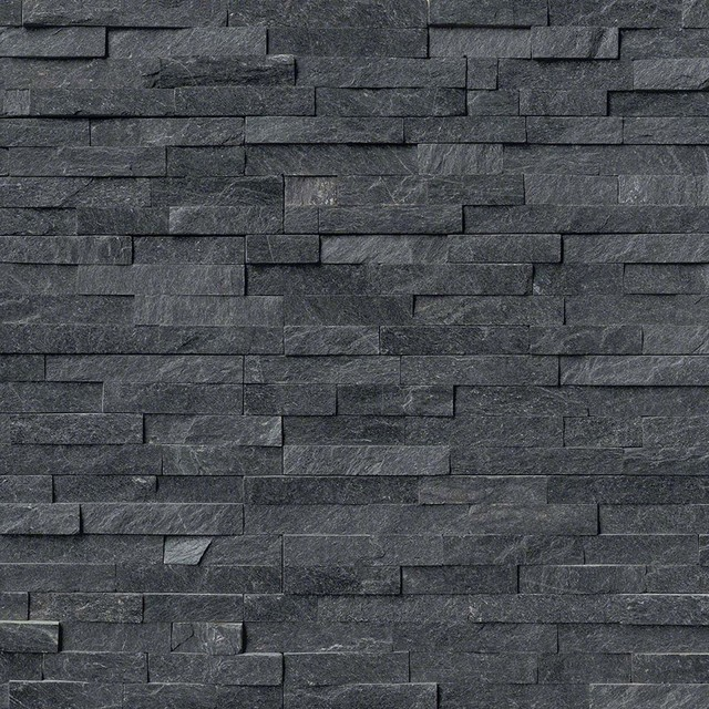 stacked stone veneer fireplace siding dry stack exterior coal canyon split face quartzite