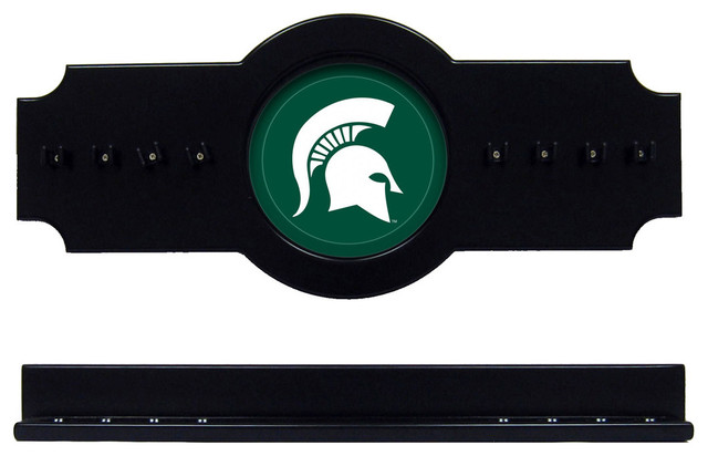 Michigan State University Spartans Pool Cue Rack
