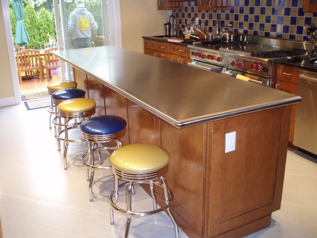 Stainless Steel Countertops Modern