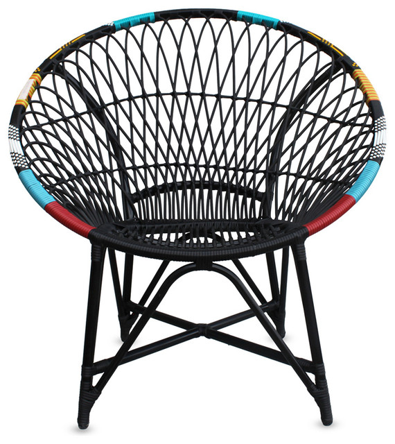 Mandala Lounge Chair, Chaos.