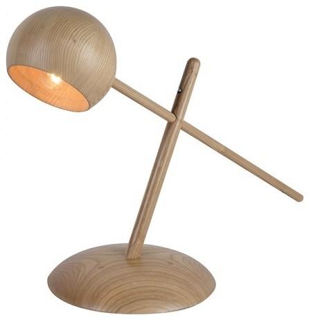 Solid Wood Adjustable Task Reading Lamp Transitional Desk Lamps