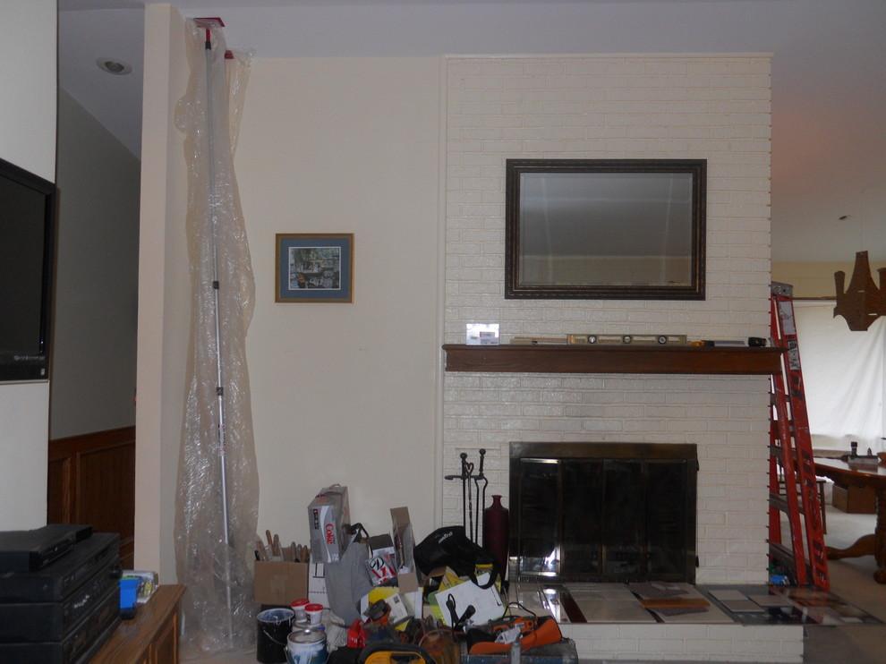Fireplace Update/DIY