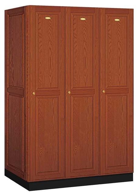 Executive Locker in Medium Solid Oak - Contemporary - Storage Cabinets - by ShopLadder