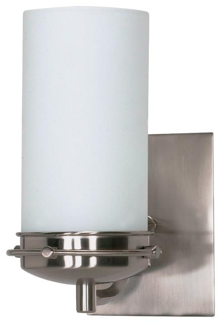 Bathroom Vanity Lights With Clear Glass Shades : Polaris 1 Light - 5