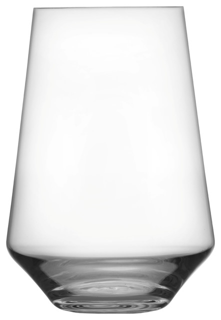8b16b9f3bd6 Schott Zwiesel Tritan Pure Stemless All Purpose 18.5oz Tumbler, Set of 6 -  Contemporary - Wine Glasses - by Fortessa Tableware Solutions