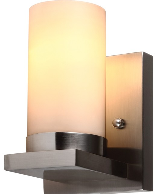 Bathroom Vanity Lights Traditional : 1-Light Ellington Wall Bath Sconce - Traditional - Bathroom Vanity Lighting - by Sea Gull Lighting