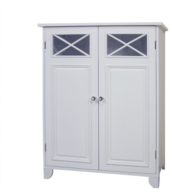 Dawson Two Door Floor Cabinet - Bathroom Cabinets And Shelves - by ...