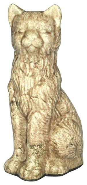 Large Terracotta Cat