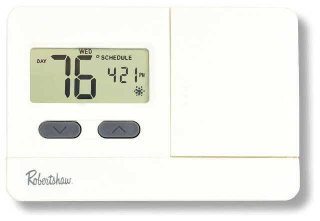 3110, 3000 Economy Series 5-2 Programmable Digital Thermostat 1 Heat/1 Cool.