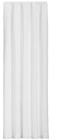 "Beverly Rod Pocket Linen Drape, New Gray, 50""x108""."
