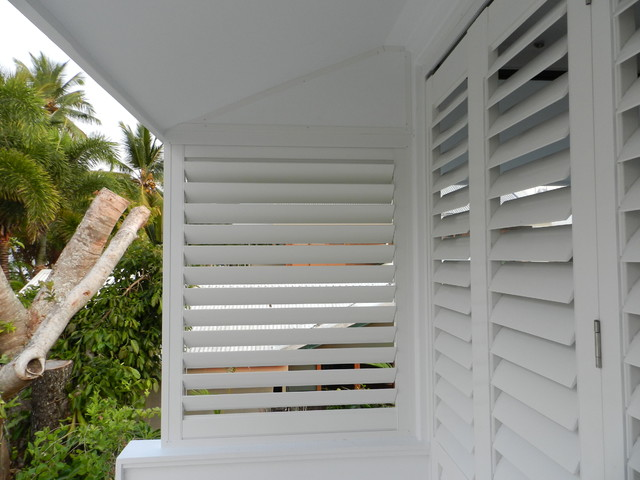 Aluminum exterior plantation shutters modern deck other by colorado shutters Aluminum exterior plantation shutters