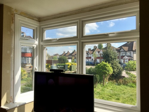 What To Do With Our Square Bay Window