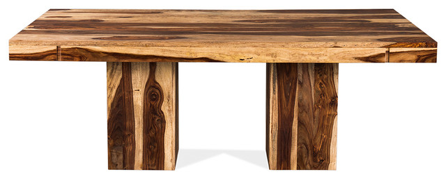 Anand Rectangular Dining Room Table Rosewood Rustic  : rustic dining tables from www.houzz.com size 640 x 258 jpeg 45kB