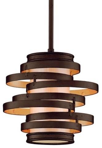 Corbett Lighting 113-41 Vertigo 1 Light Modern Pendant.