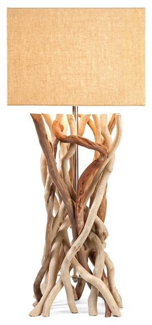 Explorer Drift Wood Table Lamp Beach Style Table Lamps