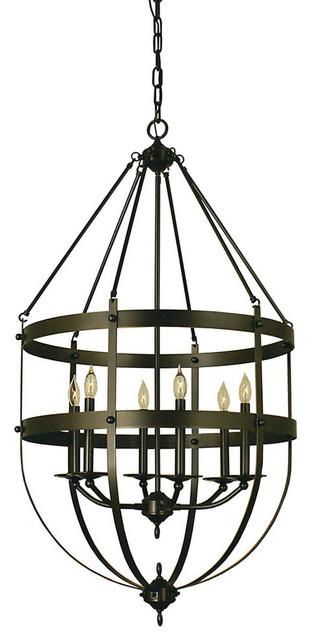 Traditional Foyer Chandeliers : Shop houzz framburg light hannover foyer chandelier