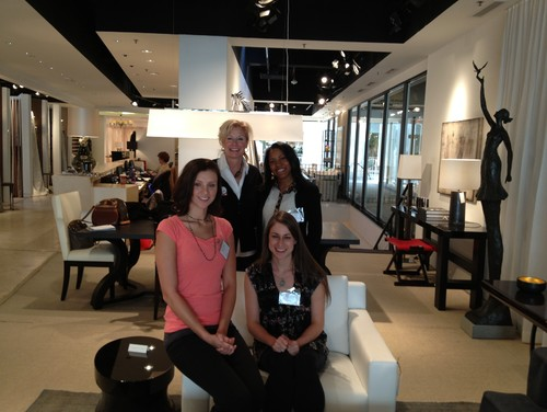Friday At The Jerry Pair And Associates Showroom In ADAC Atlanta Decorative Arts Center With 3 Interior Design Students Part Of ASIDs Real World