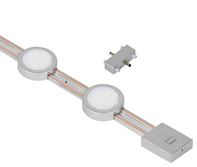 """JESCO Lighting Group - JESCO Radianz 2-Light LED 12"""" Track Lighting Extension Kit 3000K - View ..."""