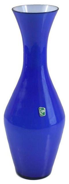 Scandinavian Modern Elme Glasbruk Cased Glass Vase