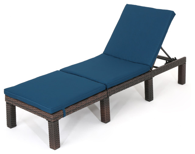 Modern Contemporary Urban Outdoor Patio Balcony Armchair Cushion, Gray, Fabric