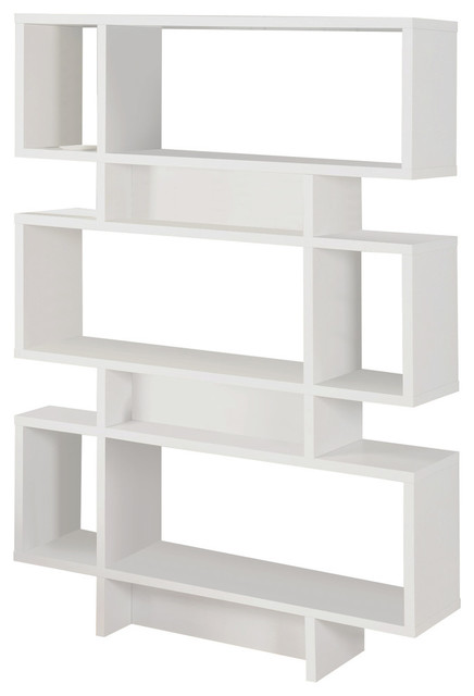 Wood Cube Bookcase Display Cabinet - Modern - Bookcases - by Pilaster Designs
