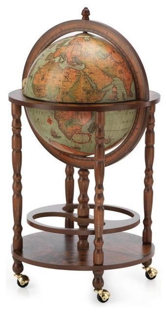 Zoffoli Minerva Bar Globe 40cm Diameter - Traditional - World Globes ...