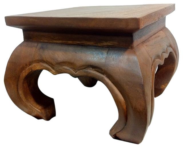 san francisco aeb92 673ee Solid Wood Opium Table, 12 X 12