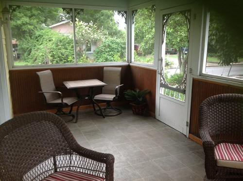 Florida Room Ideas turn screen porch into florida/sun room.