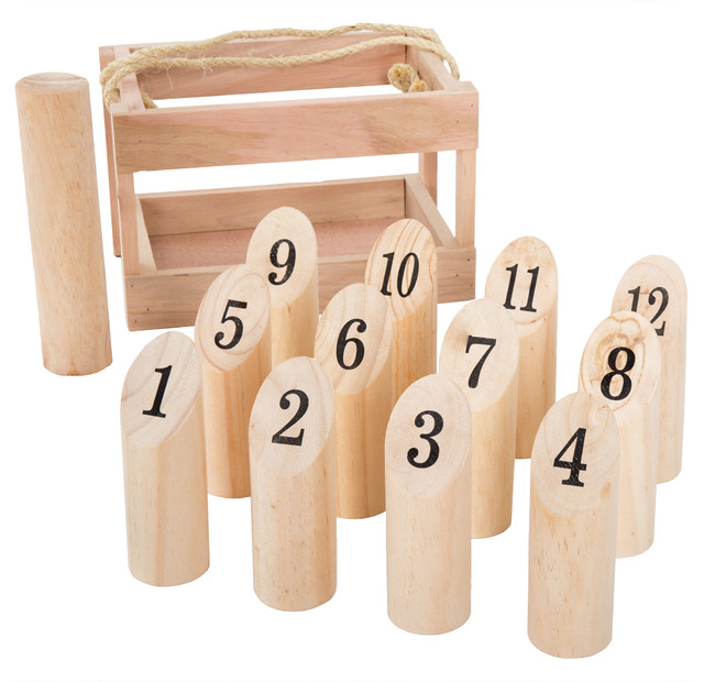 Hey! Play! Wooden Throwing Game