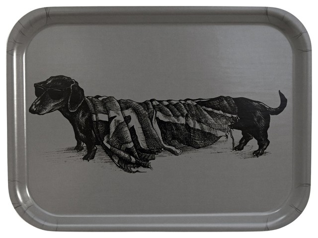 Hot Dog Rectangular Tray